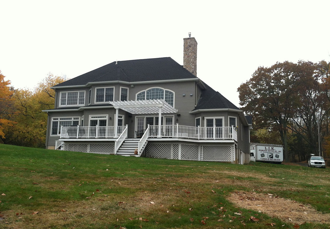 Rockland County Ny Seamless Gutters L I K Seamless